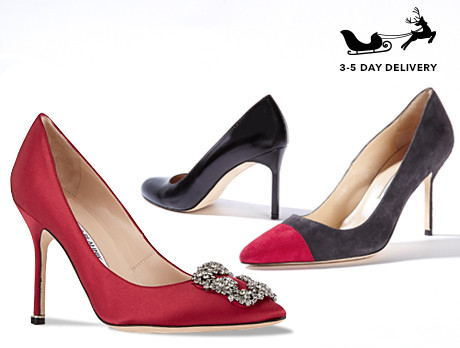 2c00e040ec9f Discounts from the Manolo Blahnik sale