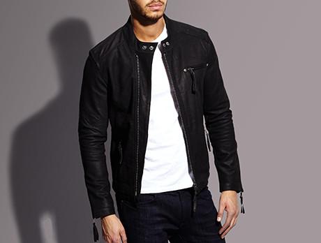 de411e337 Discounts from the Men's Helium Leather Jackets sale | SECRETSALES