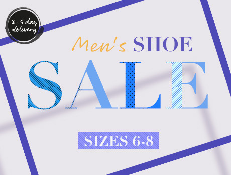 9dcda5e25d728c Discounts from the Men s Shoes  Sizes 6-8 sale