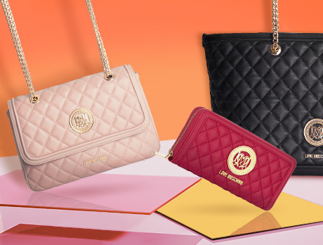 a244f0e7545d2 Discounts from the Love Moschino Handbags sale