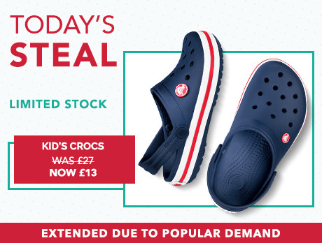 Today's Steal: Crocs for Kids