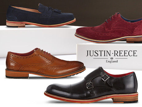 Justin Reece Leather Shoes