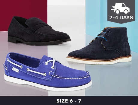 Casual Shoes for Him: Sizes 6-7