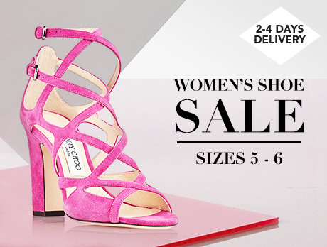 Women's Shoe Sale: Sizes 5-6
