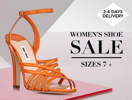 a1e6f01cb4e86 Discounts from the Women s Shoe Sale  Size 7+ sale