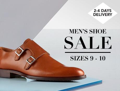 Men's Shoe Sale: Sizes 9-10