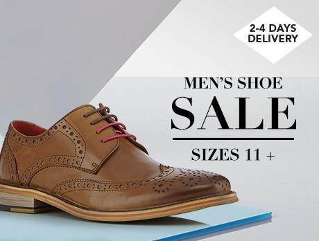 Men's Shoe Sale: Size 11+