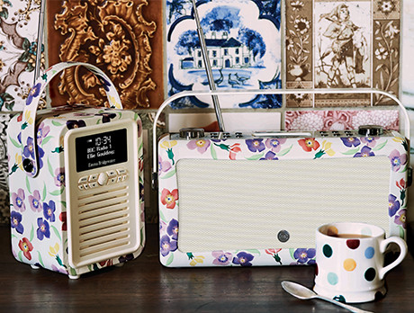 VQ x Emma Bridgewater Radios