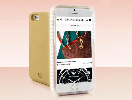 pick up dcdf2 02e40 Discounts from the CASU iPhone LED Selfie Cases sale | SECRETSALES