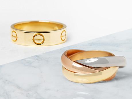 Vintage Cartier Rings