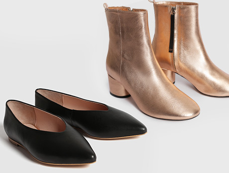 Trending: Metallic Boots & More