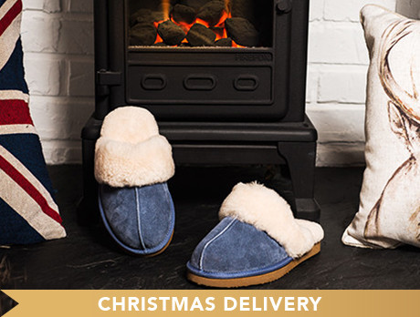 Redfoot Sheepskin Slippers