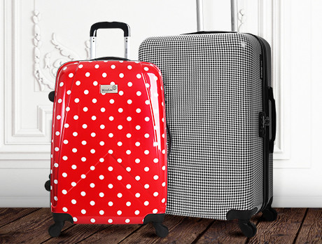 The Printed Luggage Edit