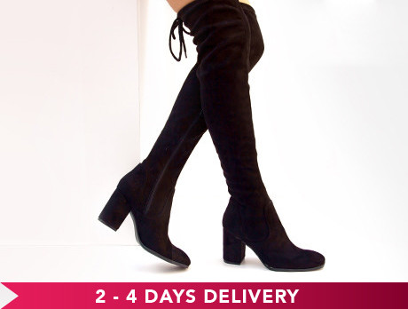 Over The Knee Boot Edit