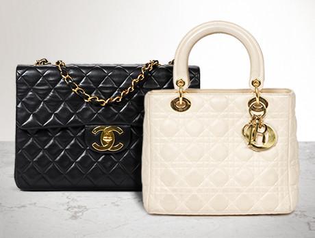 Vintage Chanel, Céline & Dior
