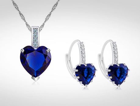 7.5 Carat Sapphire Set