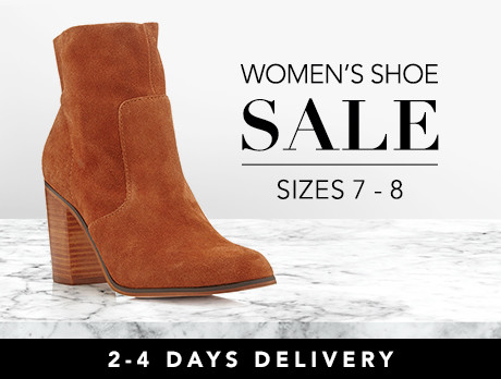 Discounts from the Women s Shoes  Sizes 7-8 sale  799e427c4a
