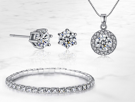 Crystal Jewellery Sets