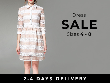 The Dress Sale: Sizes 4-8