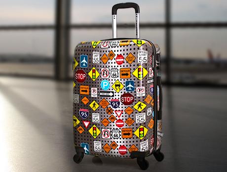 Printed Luggage Edit