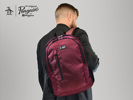 1689897364642 Discounts from the Original Penguin Backpack sale