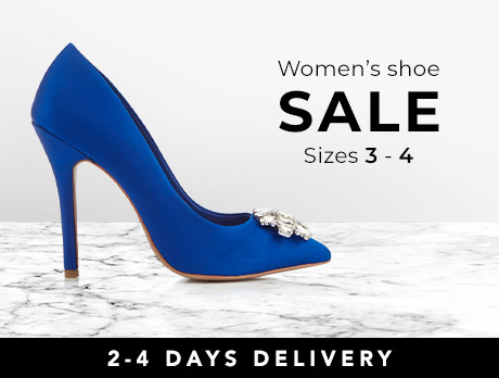 0d902229bbfaf8 Discounts from the Women s Shoes  Sizes 3-4 sale
