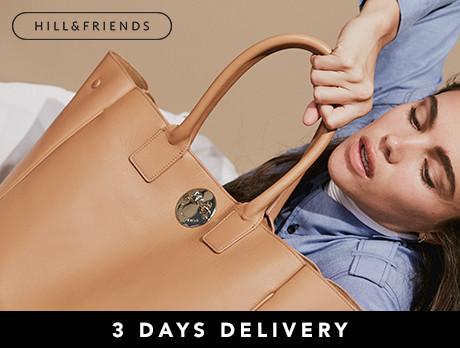 Hill & Friends: SS18 Handbags