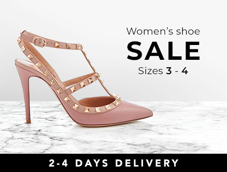 5770a9a7ec5f7 Discounts from the Women s Shoes  Sizes 3-4 sale