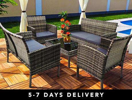 Rio Rattan Garden Lounge Sets