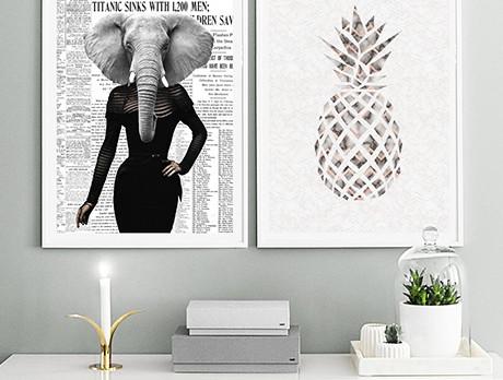 Debut: Design Edge Wall Art