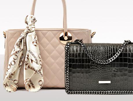 Textured Leather Handbags