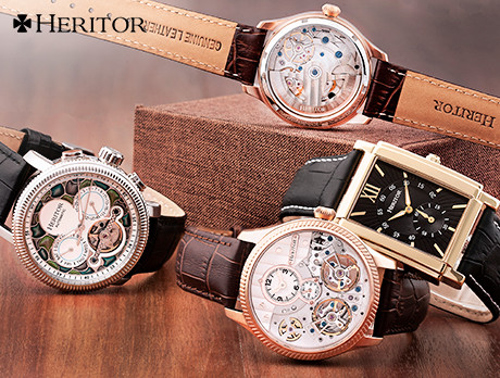 6e92360d5 Discounts from the Heritor Automatic Watches sale | SECRETSALES