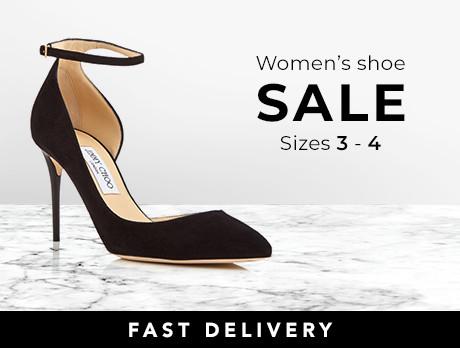Women's Shoes: Size 3-4