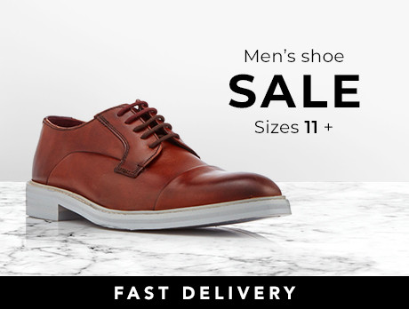 Men's Shoes: Size 11-12+
