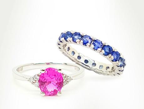 Sapphires, Tanzanite & More