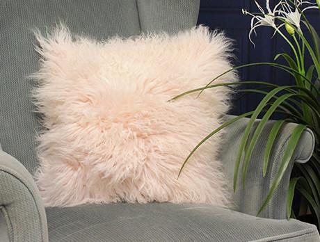 Mongolian Fur Cushions & More