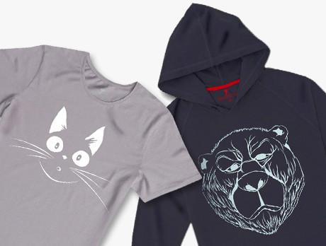 Animal Graphic Tees