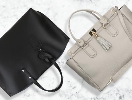 Chic Leather: Handbags