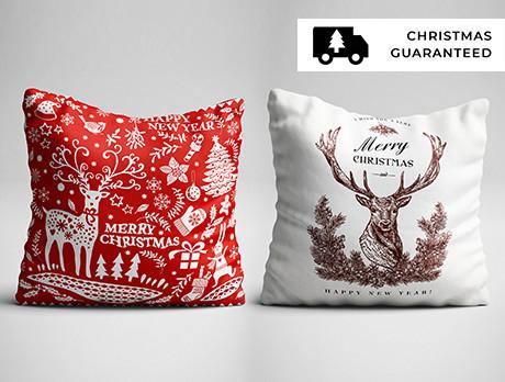 Christmas Cushions & Blankets