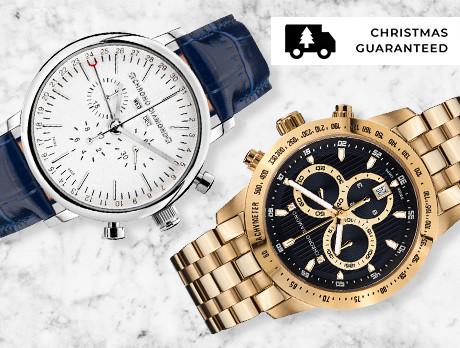 Chrono Diamond Watches