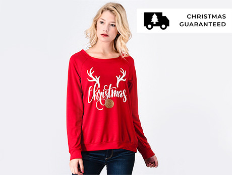 Christmas Tops.Discounts From The Christmas Tops For Her Sale Secretsales