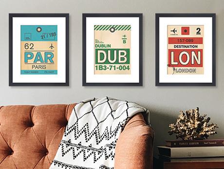 Travels in Art: Framed Prints