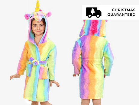 Kids' Unicorn Dressing Gowns
