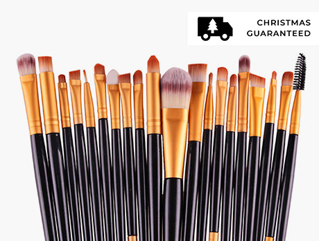 20pc Makeup Brush Sets