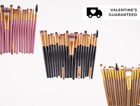 20pc Makeup Brush Sets