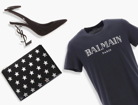 6446a503300 Discounts from the Balmain, Saint Laurent, & more sale | SECRETSALES
