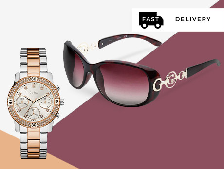 Guess: Watches & Sunglasses