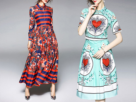 Playful Prints: Dresses