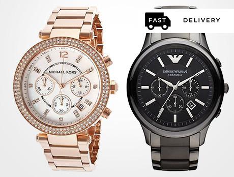 Michael Kors & Armani Watches
