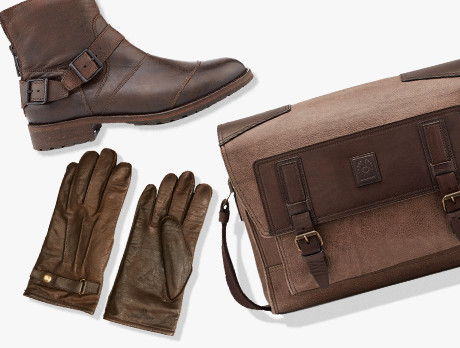 Belstaff: Shoes & Accessories